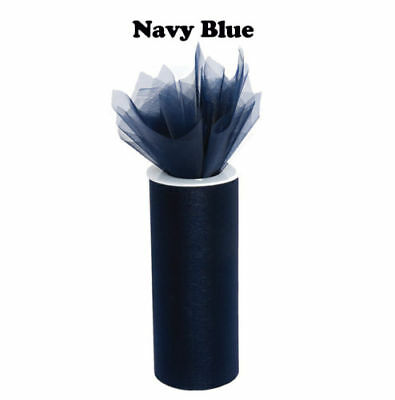 2 Pcs Navy Blue Tulle 6