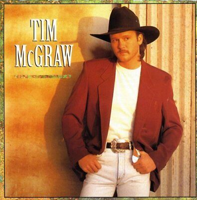 Tim Mcgraw   Tim Mcgraw  Self Titled First Album  Country Cd