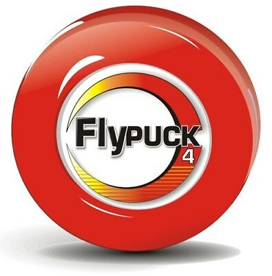 48094f74372 FlyPuck 4oz Off-ice training puck for ice roller hockey (Red - 4 ounces)