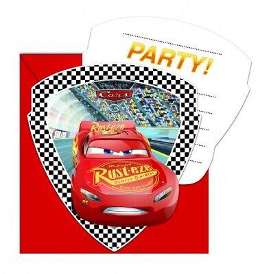 ars 3    Kindergeburtstag Einladungen Kinderparty Cars-Party (Cars Einladungen)