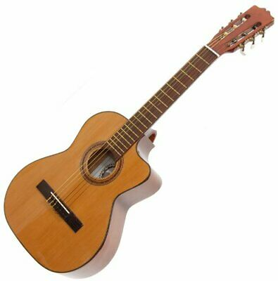 Paracho Elite Del Rio Requinto 6 String Guitar Solid Cedar Top FREE SHIPPING USA