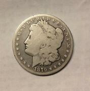 1879 CC Morgan Dollar