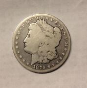1879 CC Morgan Dollar