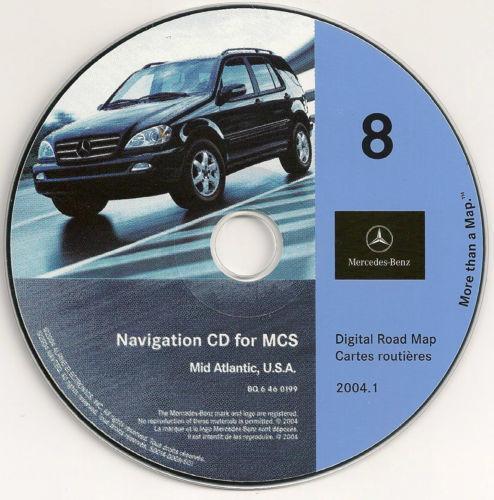 Ml 320 mercedes benz navigation cds ebay for Mercedes benz navigation free download