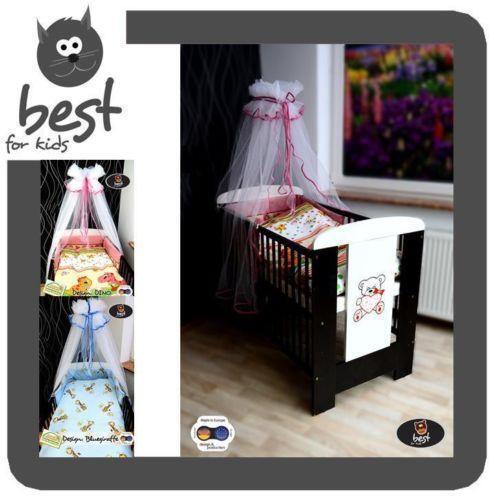 babybett komplettset m bel ebay. Black Bedroom Furniture Sets. Home Design Ideas