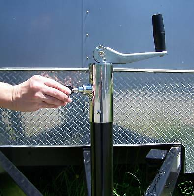 Locking A-frame 5000 Lbs. Jack Landscape For Open Or Enclosed Trailers Ra-29