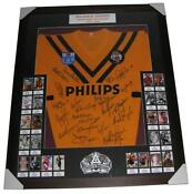 Signed Framed Jersey