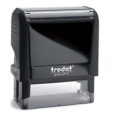 ( Custom Trodat 4914 (ideal 200) Custom Self-inking Address Stamps )