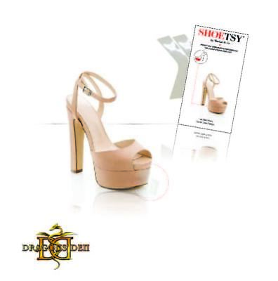 1x Clear platform heel protector guard scuff louboutin heels and soles