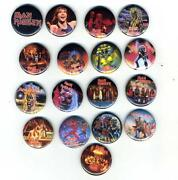 Iron Maiden Button