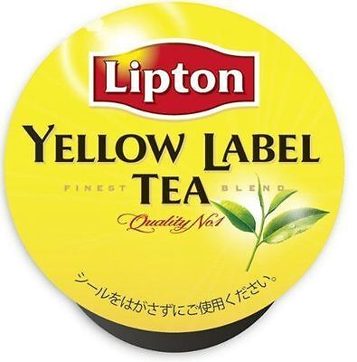 UCC K-CUP Yellow Label Tea Capsules 3.5g × 12 Cups New from Japan