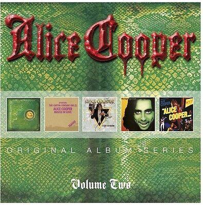 Alice Cooper   Original Album Series Volume 2  New Cd  Germany   Import
