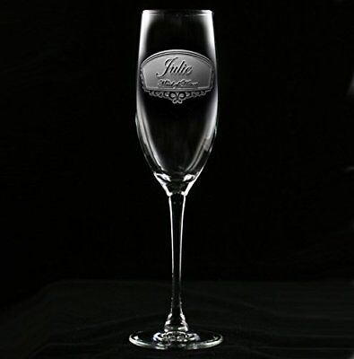 Bridal Party Ideas (Engraved Bridal Party Champagne Toasting Glass Gift Ideas, Set of)