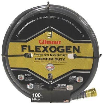 NEW GILMOUR 10058100 GRAY GARDEN WATER HOSE GILMOUR FLEXOGEN 5/8'' X 100 FOOT