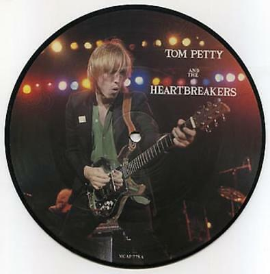 "EX! TOM PETTY AND THE HEARTBREAKERS REFUGEE / INSIDER 7"" Vinyl Picture Pic Disc"