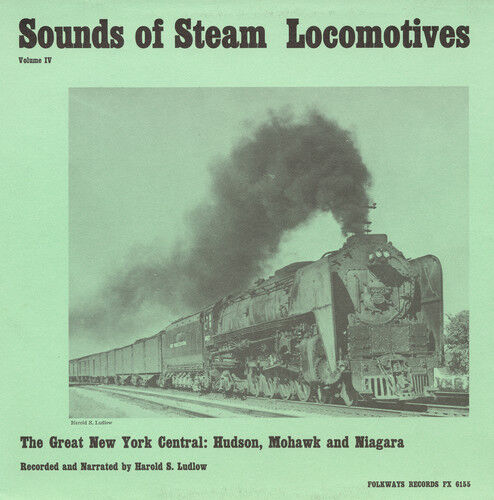 Harold S. Ludlow - Sounds Of Steam Locomotives No. 4: Great New York [