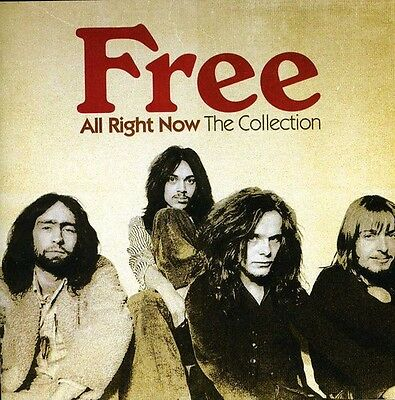 Free   All Right Now  Collection  New Cd