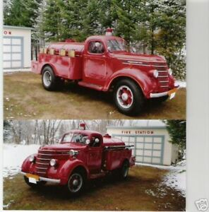 1938 International Harvester Fire Truck