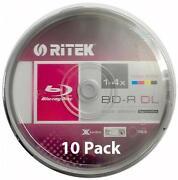 50GB Blu Ray Discs