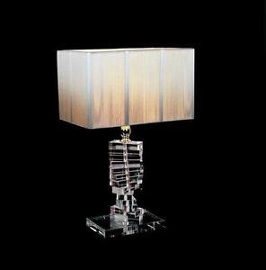 Superieur Modern Crystal Table Lamps
