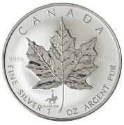 1998 Silver Maple Leaf