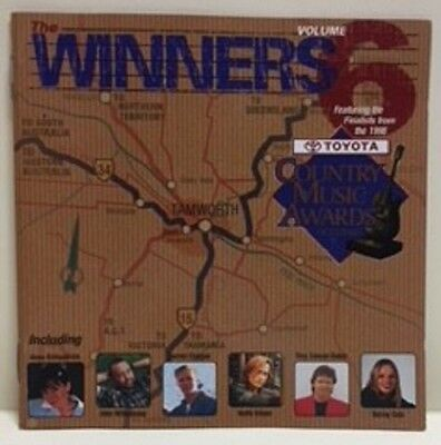 Country Music Awards Australia  The Winners Vol 6  2 Cd Set  1998  Keith Urban