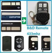B&D Garage Door Remotes