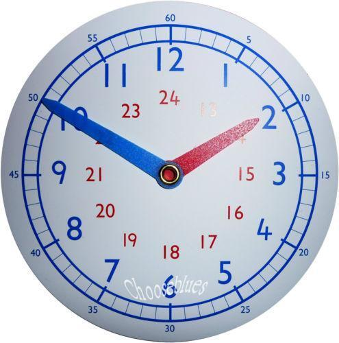 Teaching Clock Ebay