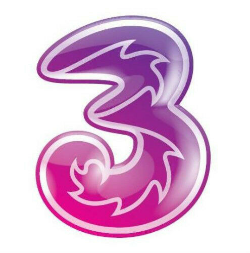 THREE 3 NETWORK PAY AS YOU GO SIM CARD PACK FOR 3G MOBILE PHONE FREE SKYPE CALLS
