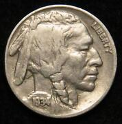 1934 Buffalo Nickel