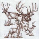 Deer Bath Towels