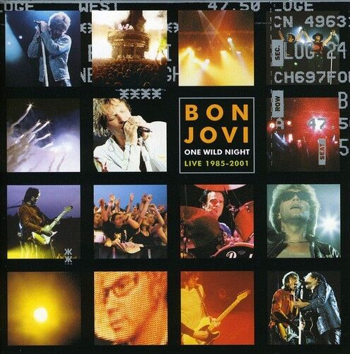 Bon Jovi - One Wild Night [new Cd] Germany - Import