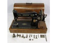 Tools and sewing machines for charity