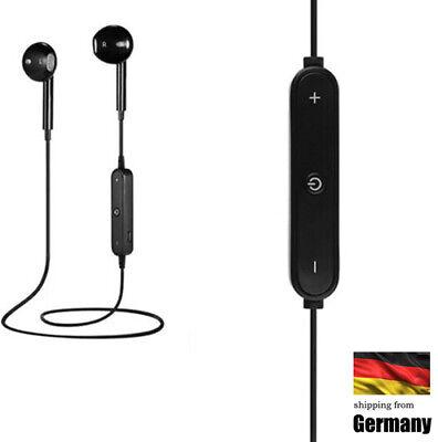 Universal-drahtloser Bluetooth Sport-Stereokopfhörer-Kopfhörer für Handy Schwarz Universal Bluetooth Stereo
