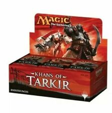 Khans of Tarkir BOOSTER BOX ENGLISH SEALED MAGIC THE GATHERING