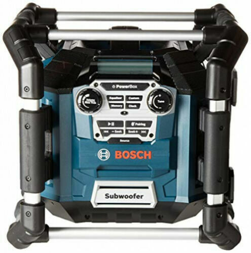 Bosch 18V Li-Ion Power Box Jobsite Digital Media Stereo (BT) PB360C New