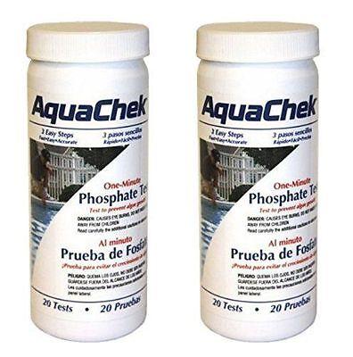 - Aquachek one minute Phosphate Pool & Spa Test - 562227 - 2 PACK