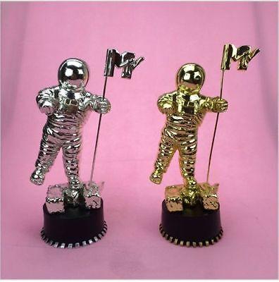Mtv Moonman Music Choice Award Trophy Replica Silver Usa Seller Pre Black Friday