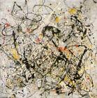 Jackson Pollock Reproduction Art