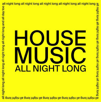 """JARV IS...""""House Music All Night Long""""12"""" Vinyl Single Record:2020(New & Sealed)"""
