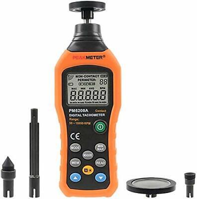 Digital Tachometer 50-19999RPM Professional Handheld Tachometer RPM Speed Gau...