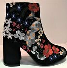 Qupid Women's Suede Boots for Women 10 Women's US Shoe Size