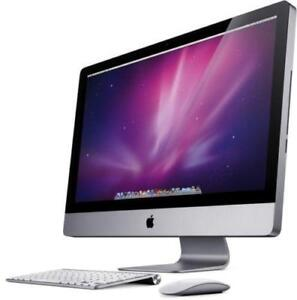 iMac - 2011 - 21.5 inch screen - 500gb - 4gb RAM - Intel Core i5