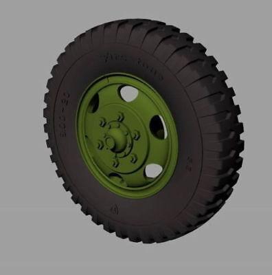 RE35-530, M35&M109 trucks Road wheels (Firestone), PANZERART, SCALE 1/35 for sale  Birmingham