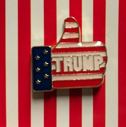 Donald Trump Thumbs Up MAGA Lapel Hat Pin Tie Tac FAST USA SHIPPING