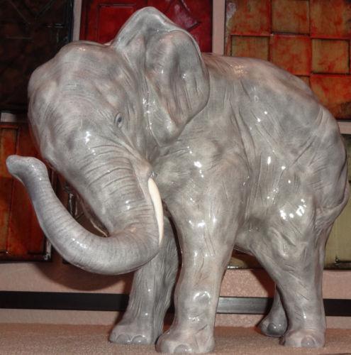 Vintage Ceramic Elephant Ebay