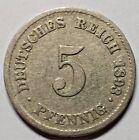 Nickel Ungraded German Empire Coins (1871-1918)