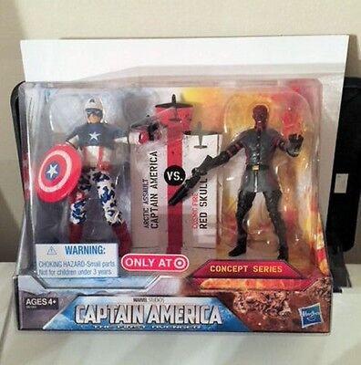Captain America C (Marvel Arctic Assault Captain America vs Red Skull 2pk Avengers Target C9)