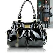 PU Leather Shoulder Tote Handbag