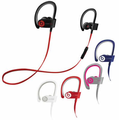 NEW Beats by Dr. Dre Powerbeats 2 Wireless In Ear Headphones - Black White Blue
